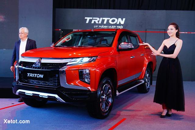 Mitsubishi Triton 2020 ra mắt với nhiều option độc nhất phân khúc