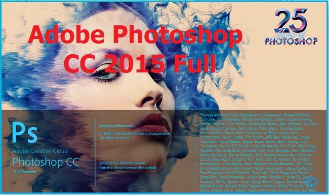 Download (Tải) Photoshop CC 2015 Full Crack 32/64 Bit - Link Google Drive -