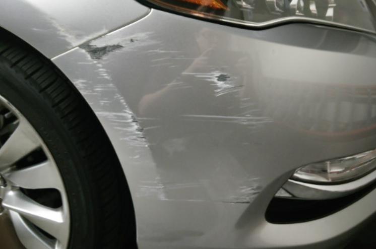 Cách khắc phục và xử lý xe ô tô bị trầy xước nặng | SẠCH