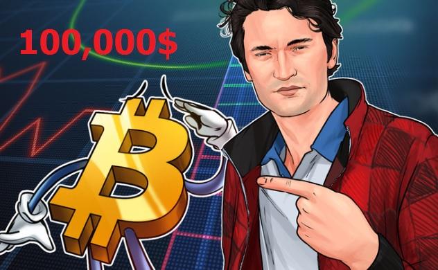 Người sáng lập Darknet Silk Road nói Bitcoin sẽ tăng lên 100,000$ trong năm 2020 -