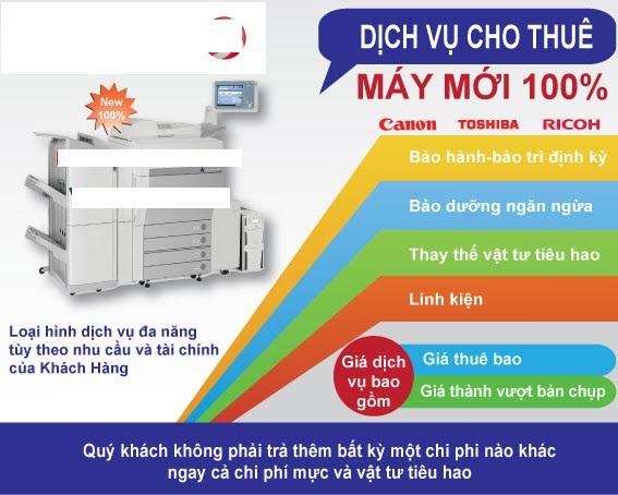 Cho Thuê Máy Photocopy: Copy, In, Scan, Màu, A3, A4, A5 | 800.000đ