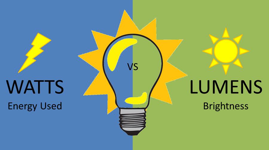 Lumen là gì? Cường độ ánh sáng và công suất phát sáng là gì? | SẠCH