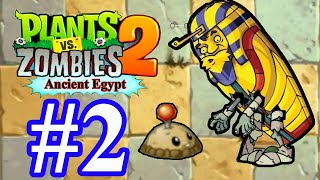Plants vs Zombies 2: Ancient Egypt Part 2 (Day 7, 8, 9) Walkthrough Gameplay