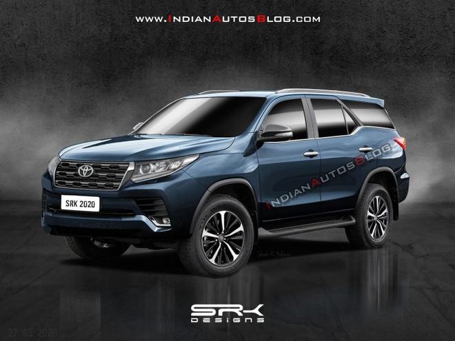 Toyota Fortuner 2021 với lớp ngụy trang lộ diện tại Thái Lan