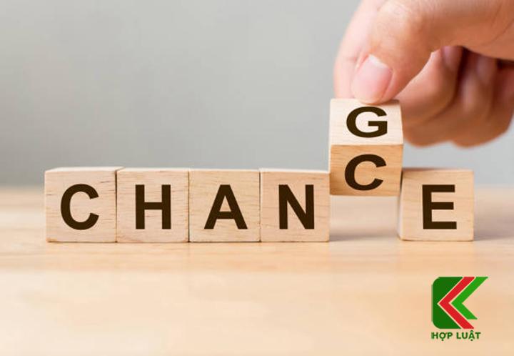 Dịch vụ thay đổi giấy phép kinh doanh uy tín Hợp Luật – Công ty TNHH Hợp Luật