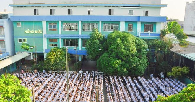 Ghi danh tại trường Hồng Đức - Môi trường tư thục chất lượng uy tín
