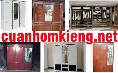 Tủ nhôm kính đựng quần áo bằng kiếng giá rẻ 2020 – cuanhomxingfagroup