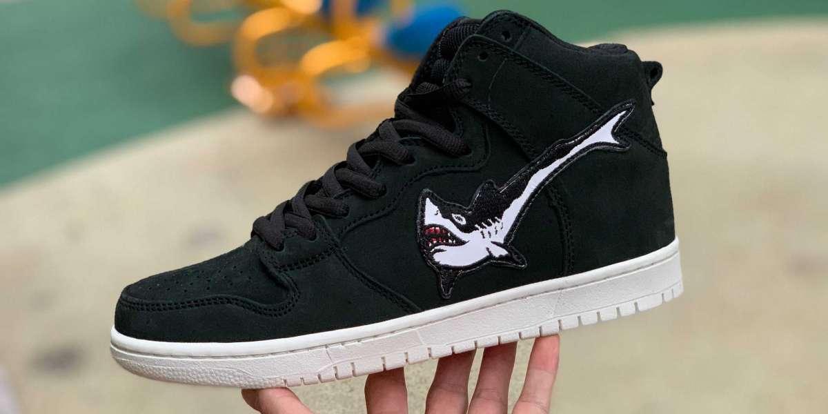 "Latest Release Nike SB Dunk High Pro ""Oski Shark"" To Buy CI2692-001"