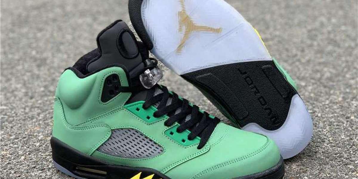 "Air Jordan 5 SE ""Oregon"" CK6631-307 to release on September 12th"