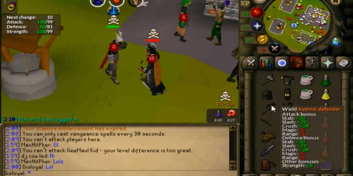 I dip back to OSRS