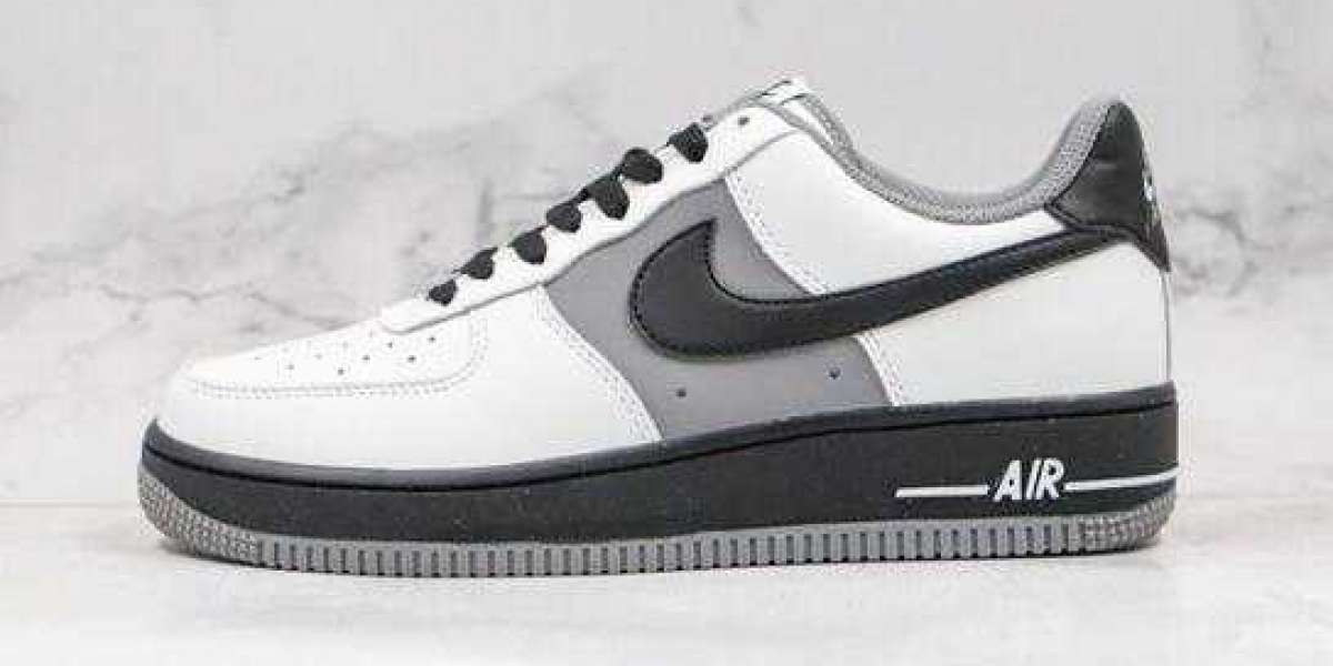 2020 Dior x Nike Air Force 1 Low Black Gray For Sale