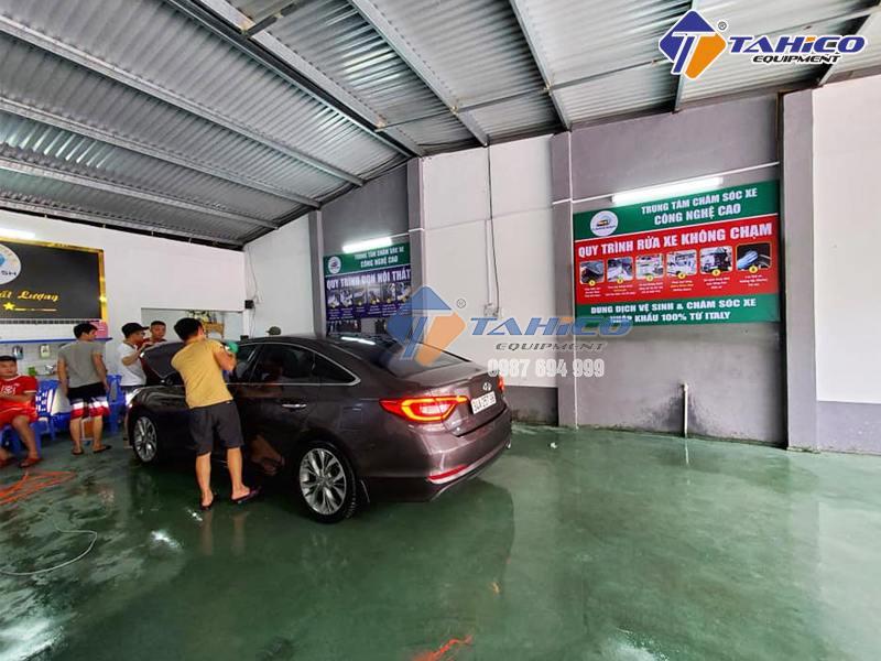 Công nghệ rửa xe không chạm liệu có là GIẢI PHÁP tốt nhất?