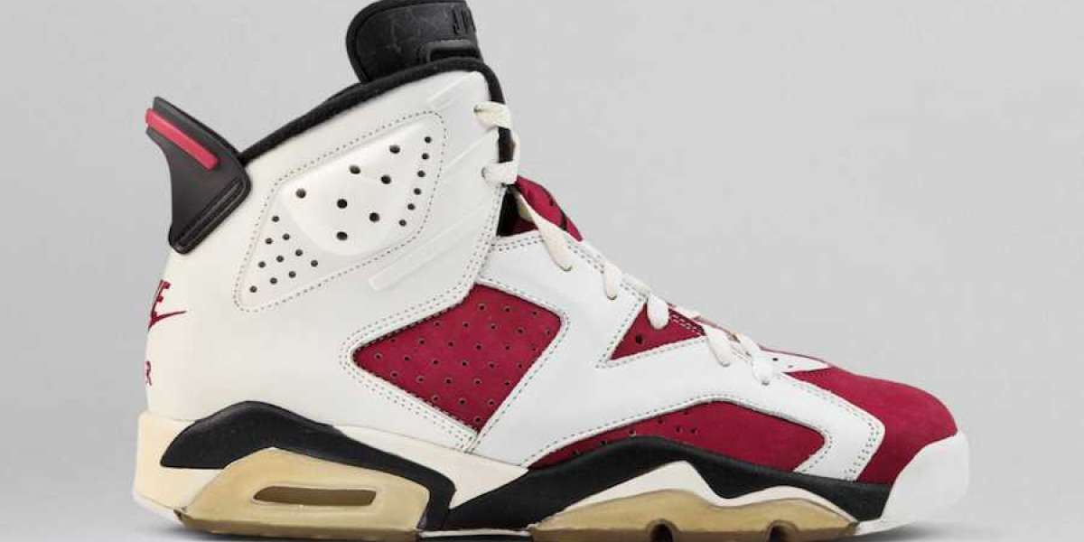 CT8529-106 Air Jordan 6 Carmine is Available Now