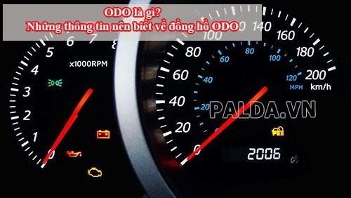 Odo là gì? Những thông tin liên quan đến odo khi mua xe - Siêu thị điện máy Số MỘT Việt Nam