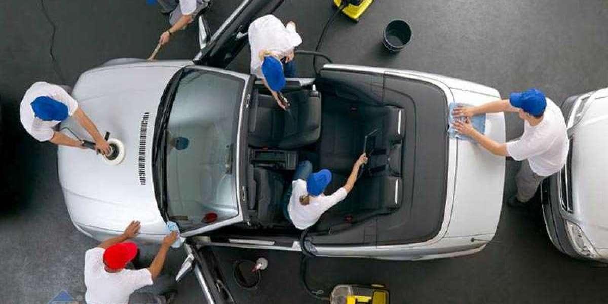 Dụng cụ rửa xe ô tô chất lượng tốt