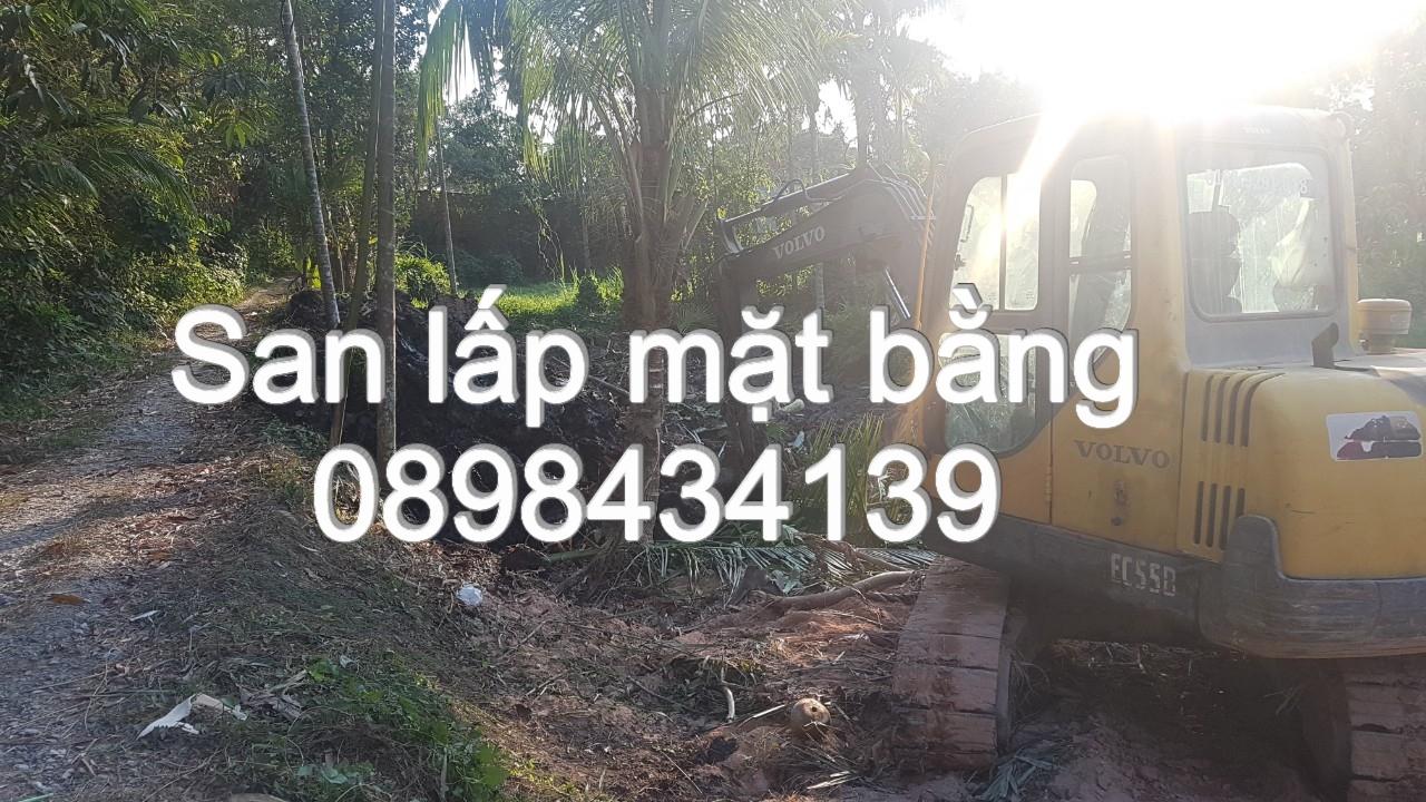 San lấp mặt bằng - 0898434139