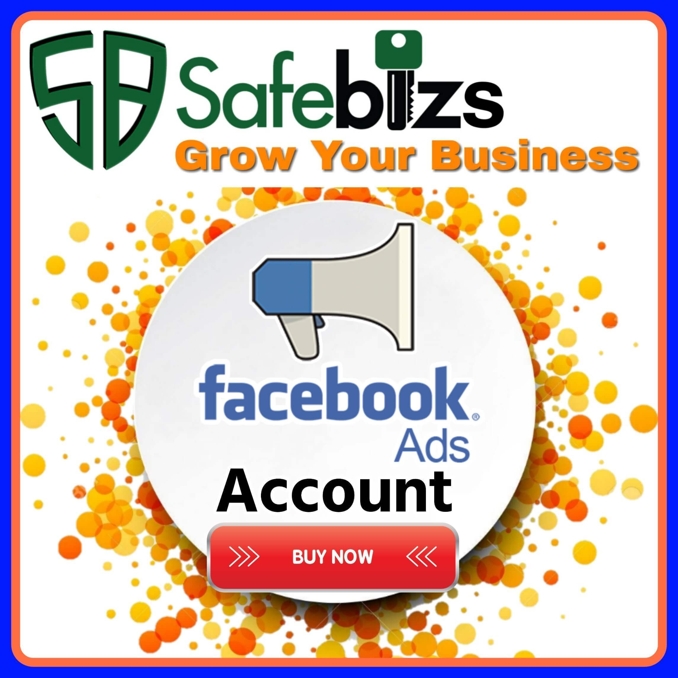 Buy Facebook Ads Accounts - 100% Real and Active Account