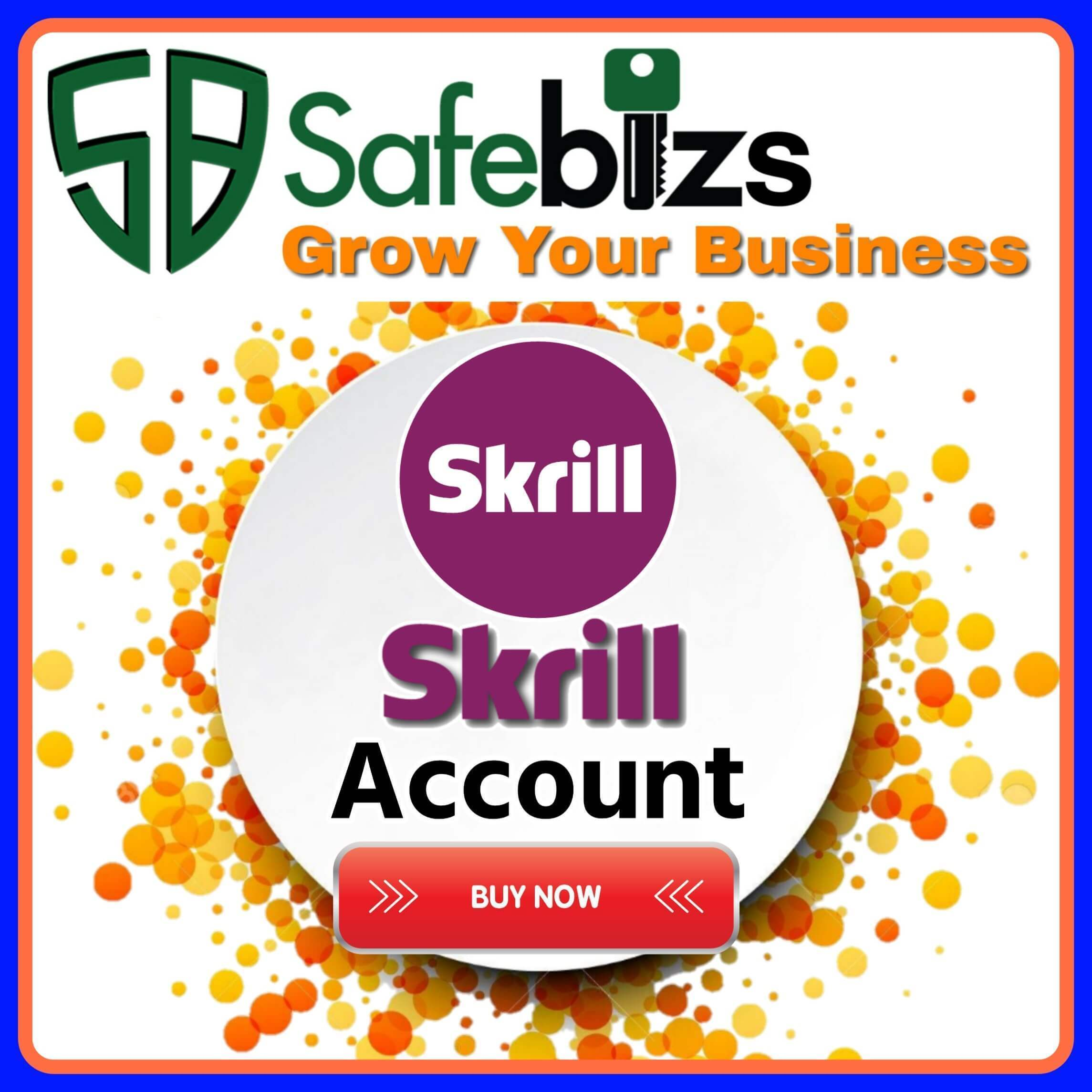 Buy Verified Skrill Account - 100% Valid Skrill Account