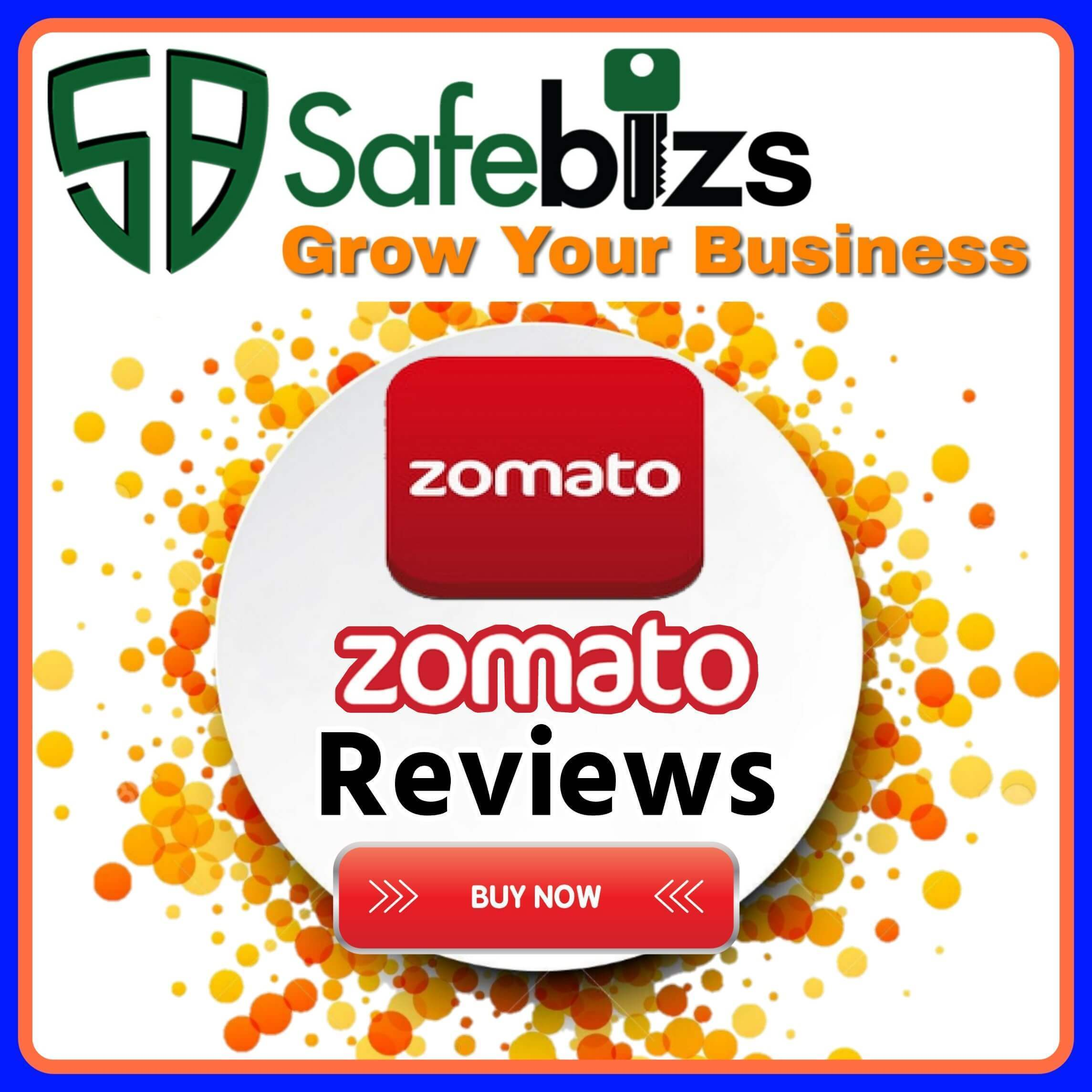 Buy Zomato Reviews - 100% Non Drop Zomato 5 Star Reviews