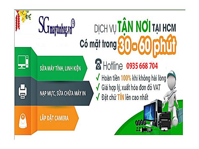 Nạp mực máy in ở huyện Bình Chánh - Tp. Hồ Chí Minh