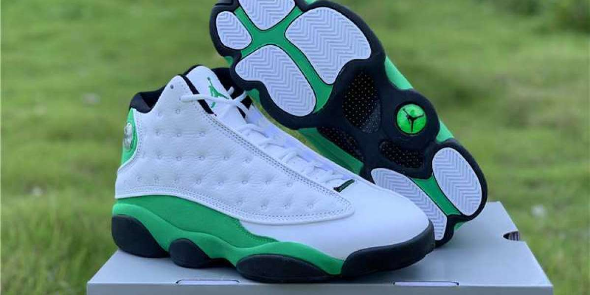 "Where to shop Air Jordan 13 ""Lucky Green"" 2020 New Release DB6537-113"