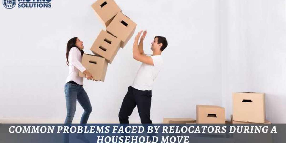 Common Problems Faced by Relocators during a Household Move