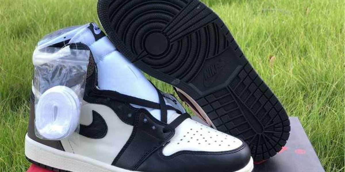 "Latest 2020 Air Jordan 1 High OG ""Dark Mocha"" Sneakers 555088-105 to release on jordansaleuk.com"