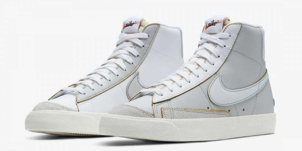"DC5203-100 Nike Blazer Mid '77 ""Label Maker"" Sneakers release information"