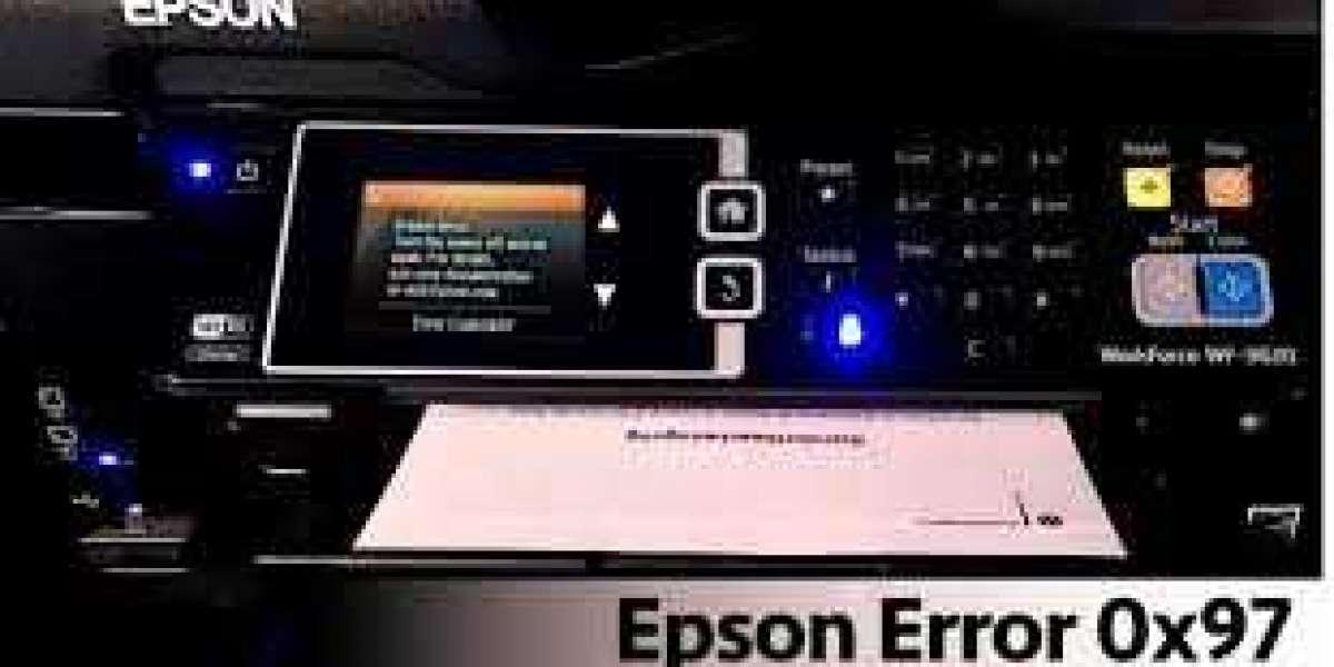 How To Fix Epson Printer Error Code 0x97