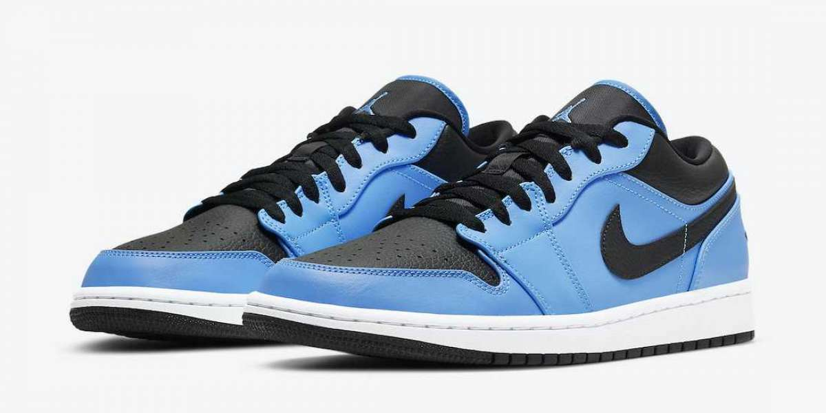 "Classic Air Jordan 1 Low ""University Blue"" 553558-403 release information"