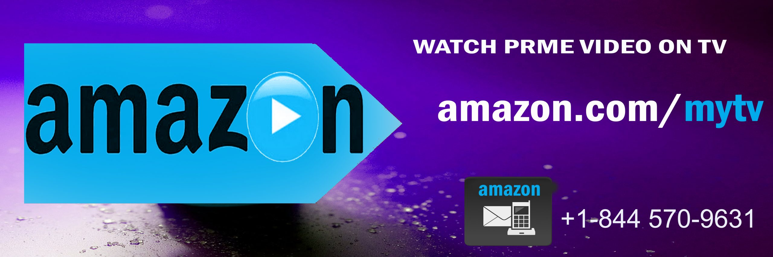 www.amazon.com/mytv - Enter code Here To Activate Prime Video