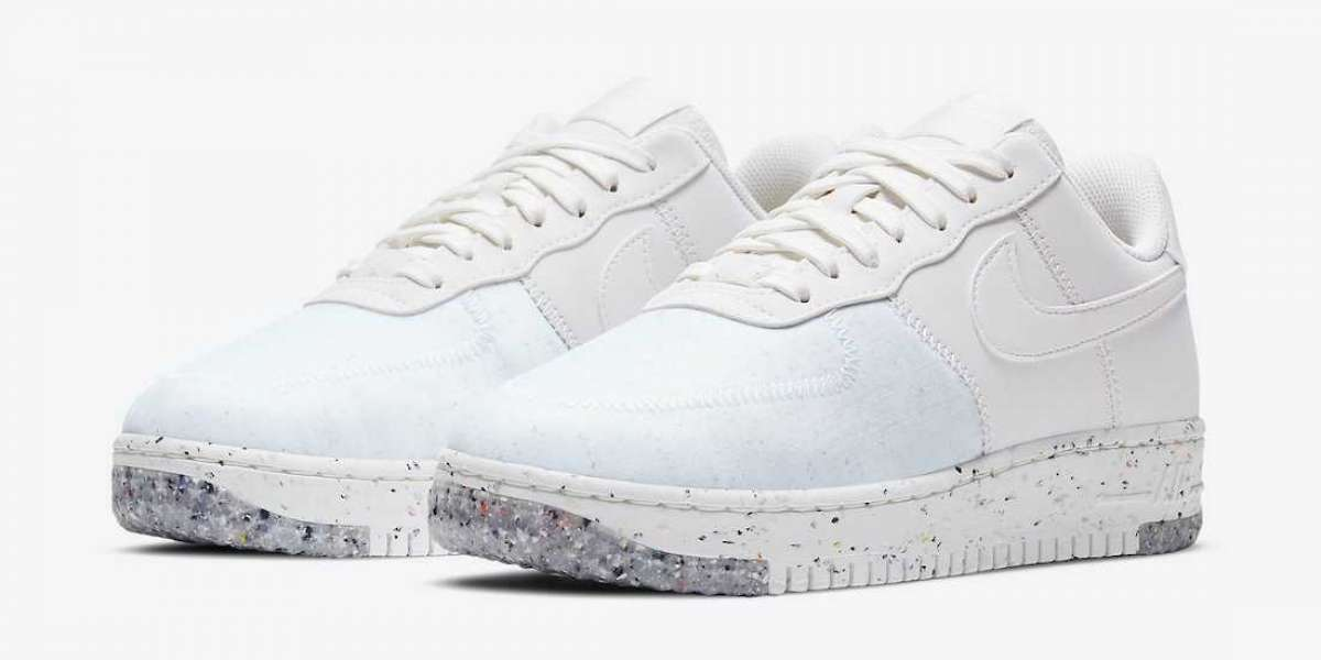 "New Sale Nike Air Force 1 Crater WMNS ""Summit White"" Online CT1986-100"