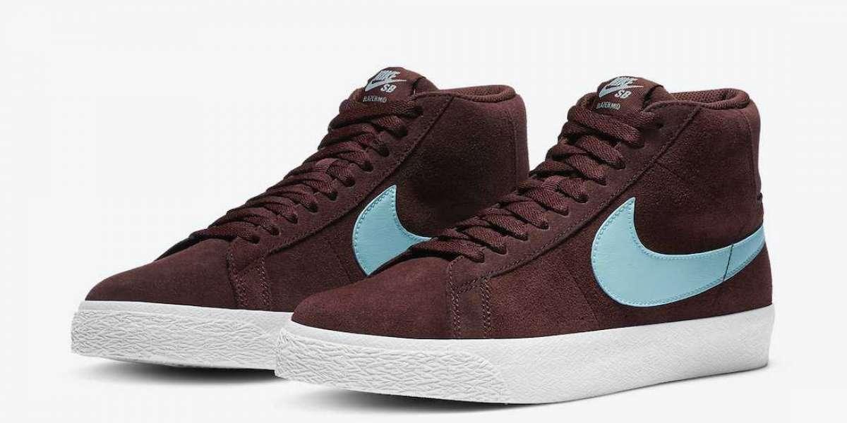"""Brand New Nike SB Blazer Mid """"Glacier Ice"""" 864349-600 Release Date"""