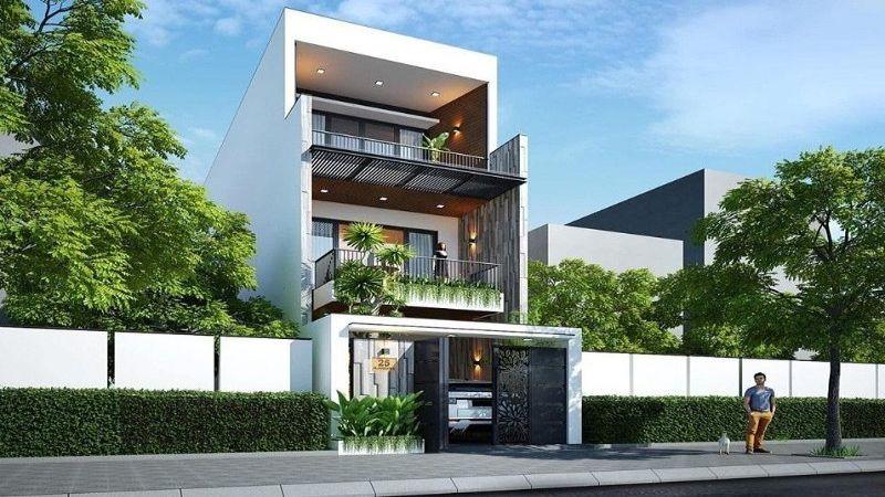 Công ty xây dựng nhà phố, nhà biệt thự đẹp uy tín