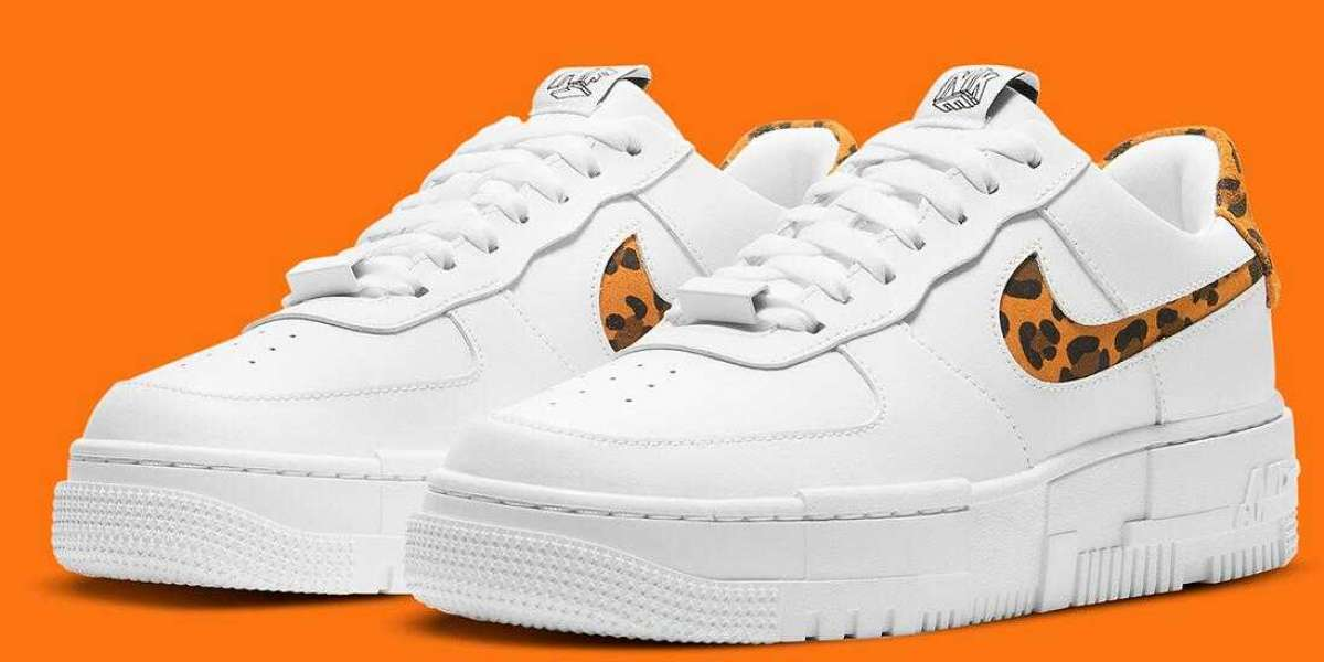 Latest Nike Air Force 1 Low Pixel Coming With Leopard Print Accents