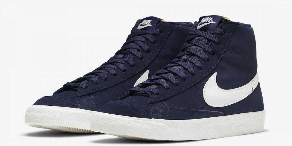 "DB5461-400 Nike Blazer Mid ""Navy Suede"" Releate Information"