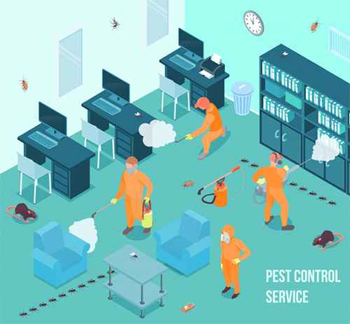 Pest Control, Cleaning and Sanitization Services Across India