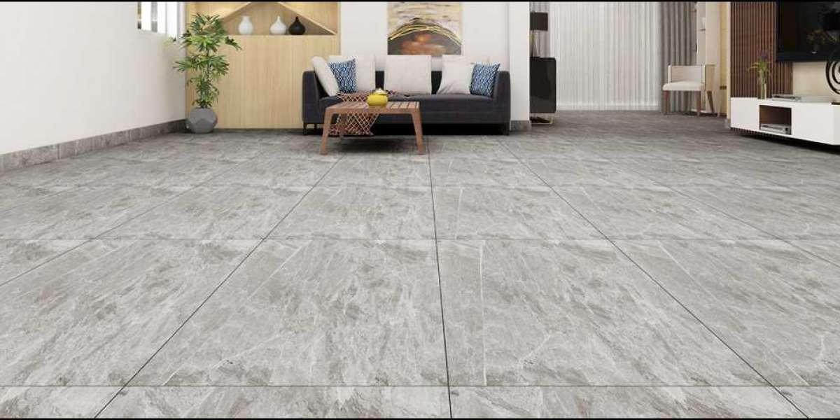 Marble vs Marble Finish GVT tiles