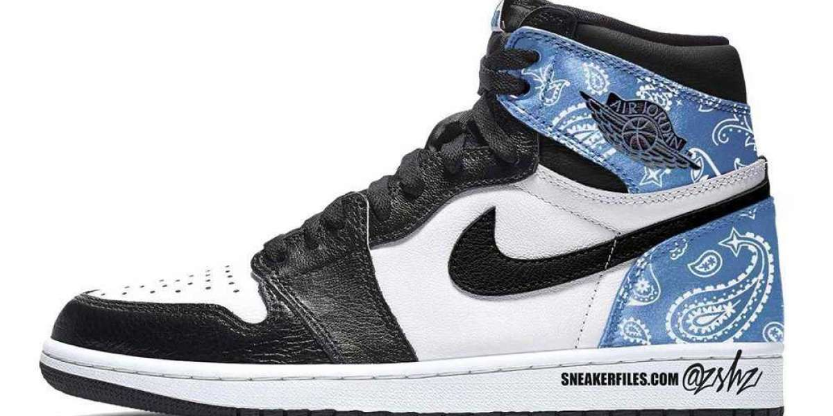 "2021 Latest Air Jordan 1 High OG ""Paisley"" Releasing Spring 2021"