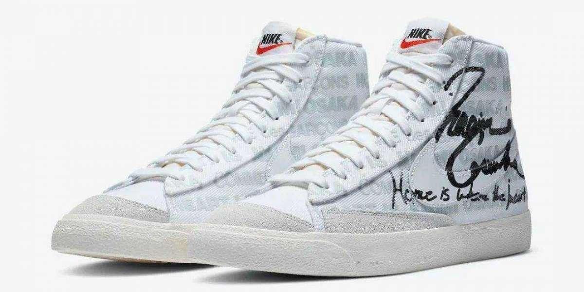 DA5383-100 CDG x Naomi Osaka x Nike Blazer Mid Released This Month