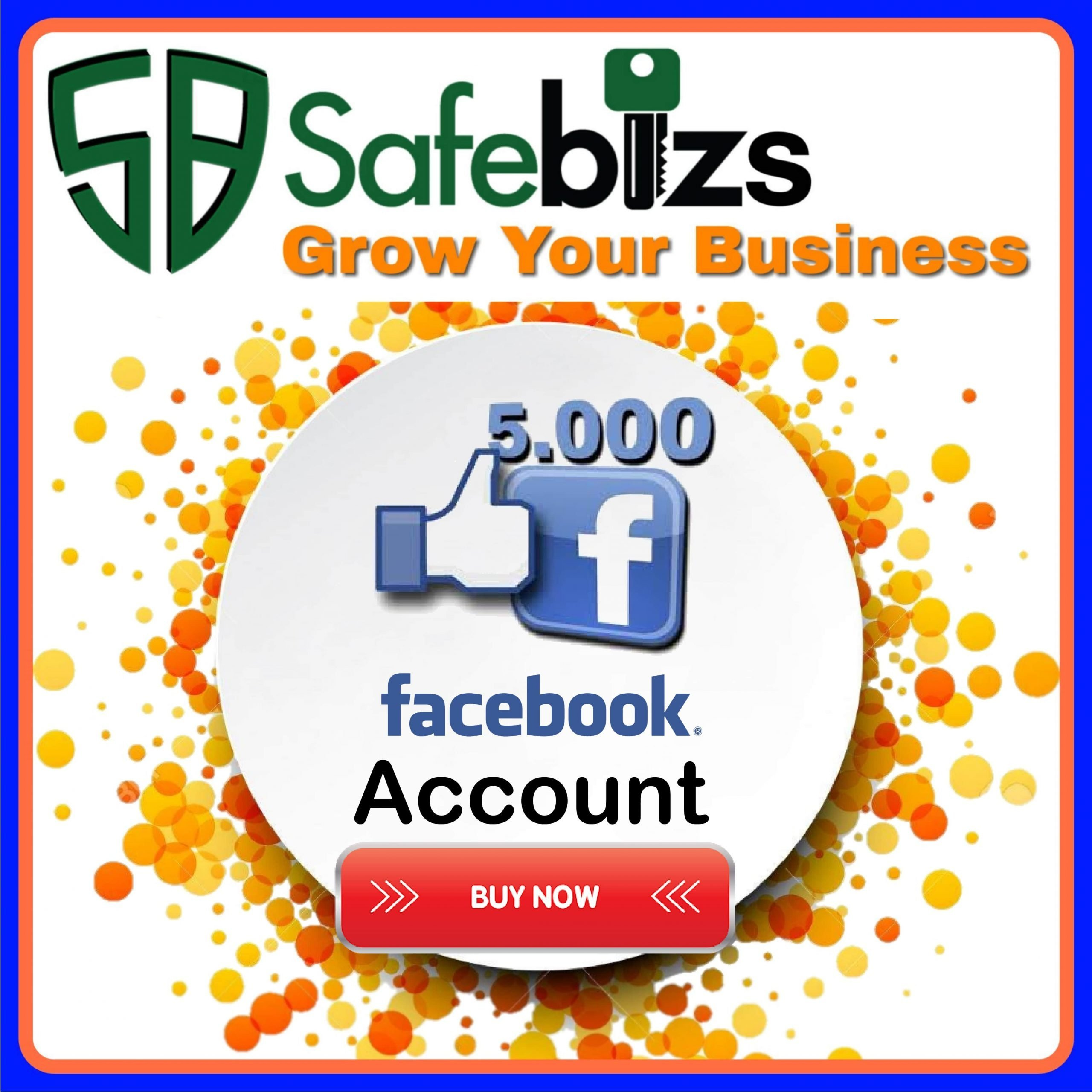 Buy Facebook Account with 5000 Friends - 100% Real Friends