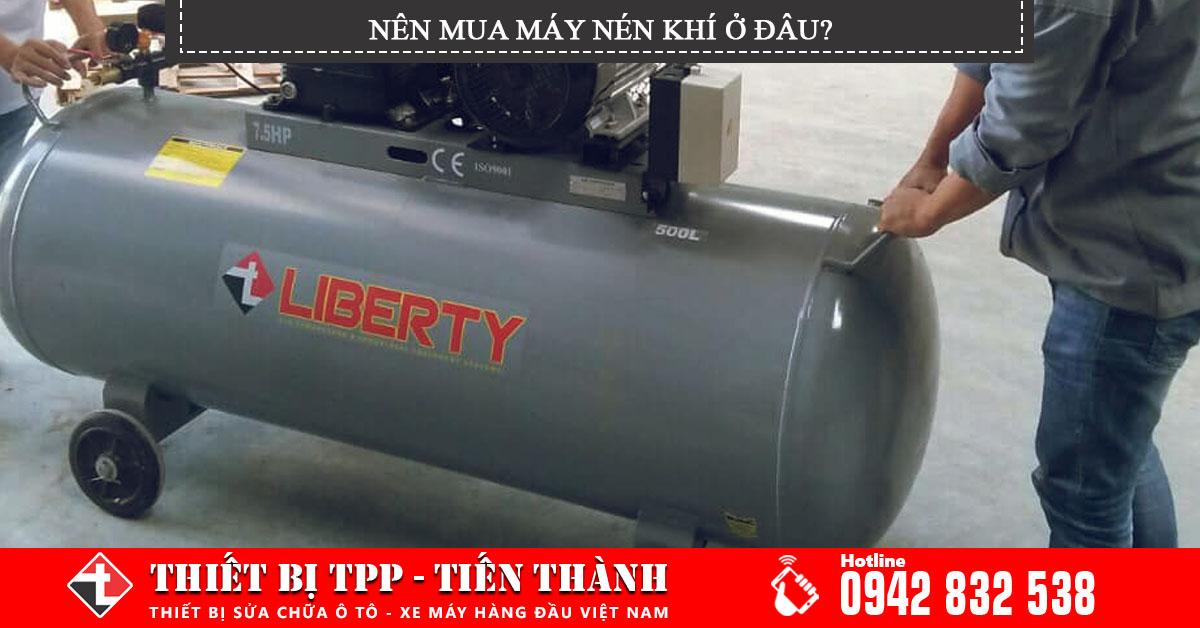 Mua máy nén khí ở đâu là chất lượng và đảm bảo nhất?