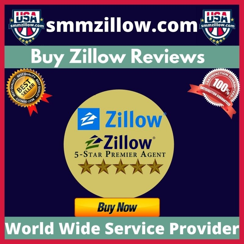 Buy Zillow Reviews - 100% Active Real Permanent