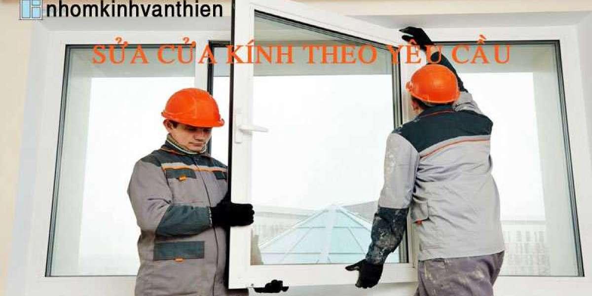 Sửa chữa cửa nhôm kính tại nhà uy tín, giá rẻ khu vực TpHCM