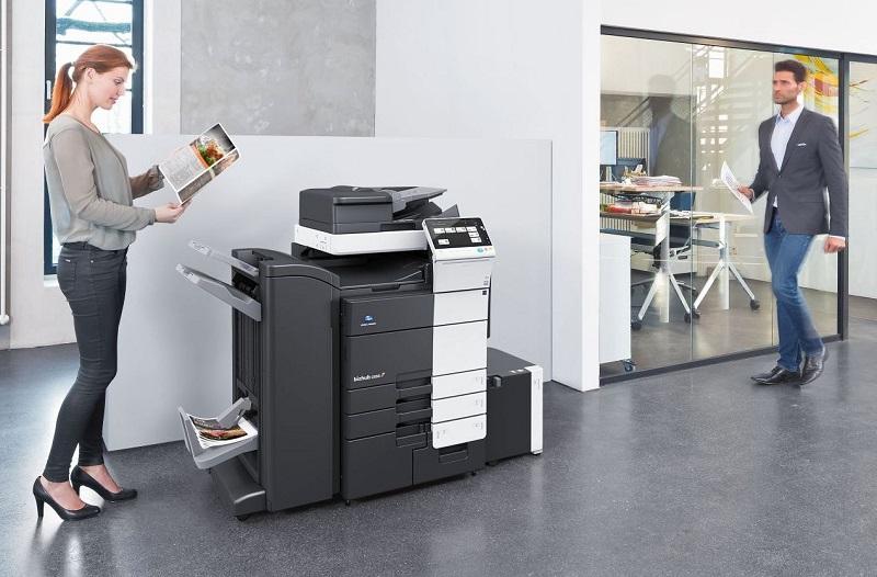 Cách khắc phục đơn giản khi máy photocopy báo hết mực ảo