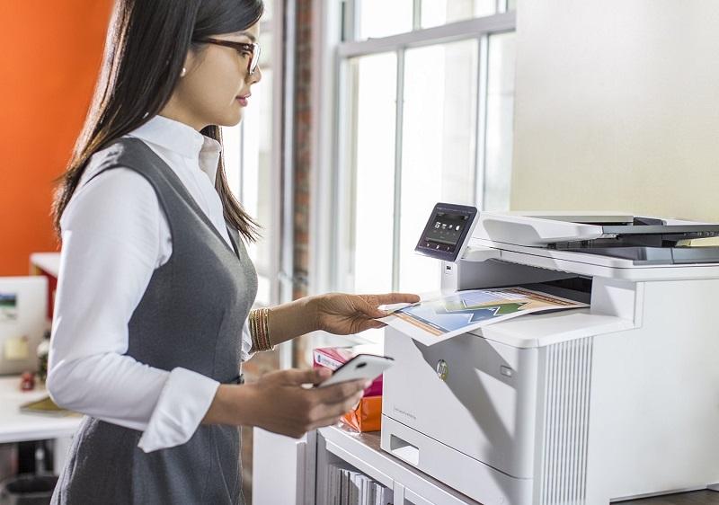 Phải làm sao khi máy photocopy Ricoh báo lỗi offline?