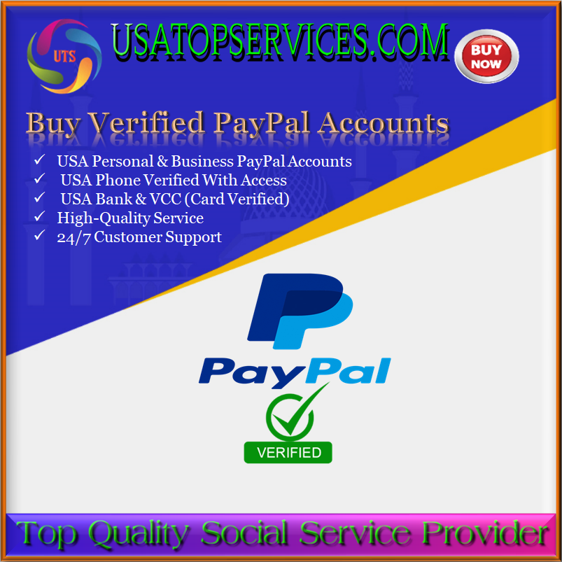 Buy Verified PayPal Accounts - USA Personal&Business PayPal Accounts