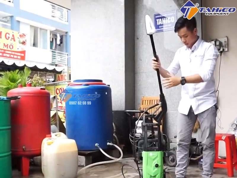Cách sửa máy rửa xe mini gia đình đơn giản tại nhà - Công Ty TAHICO