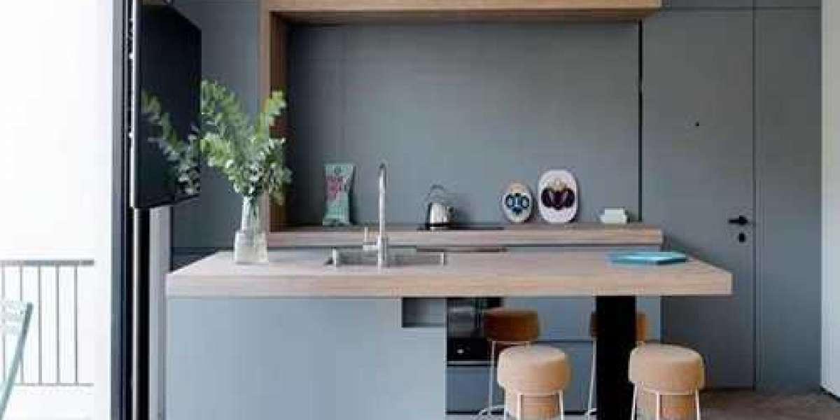 Bố trí thiết bị phụ kiện cho bếp tại vị trí rửa dọn