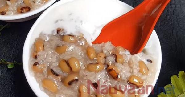 Vào bếp với món chè đậu trắng lạ miệng thơm ngon cực kì dễ làm.